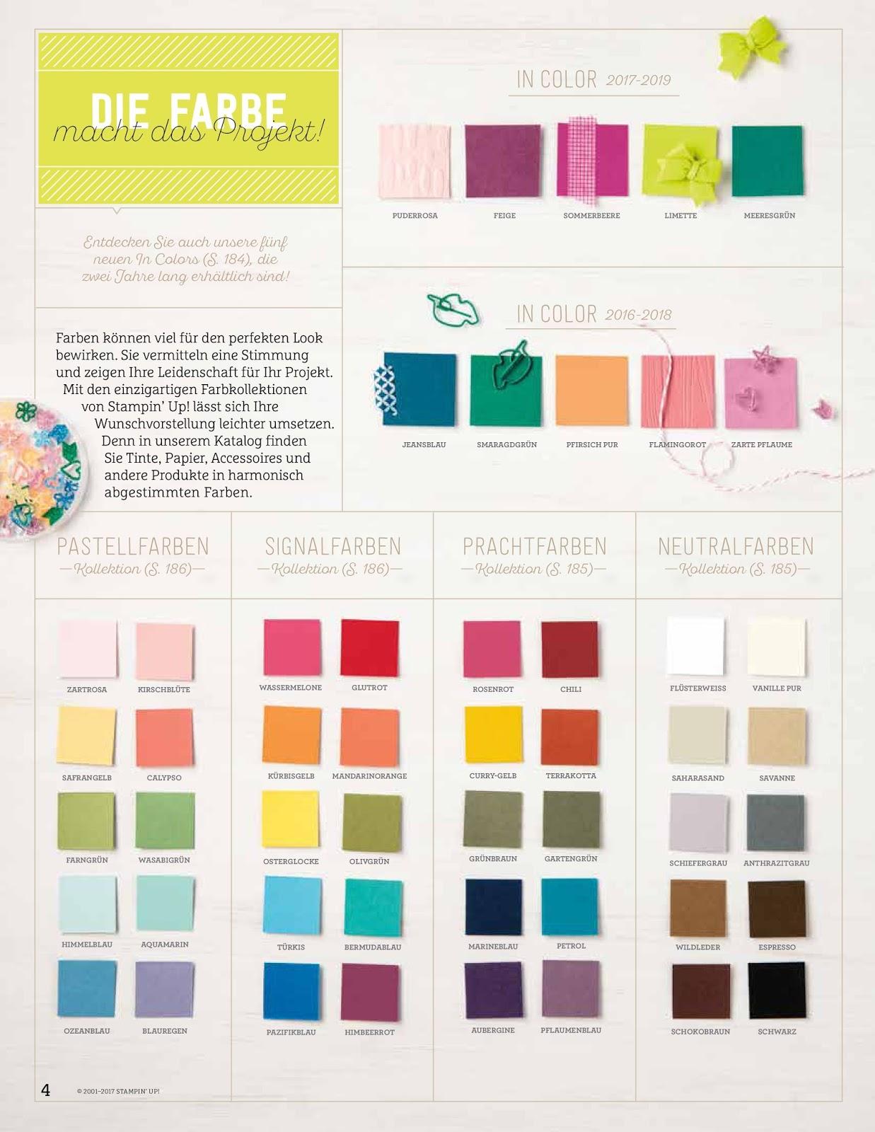 Farbfamilien