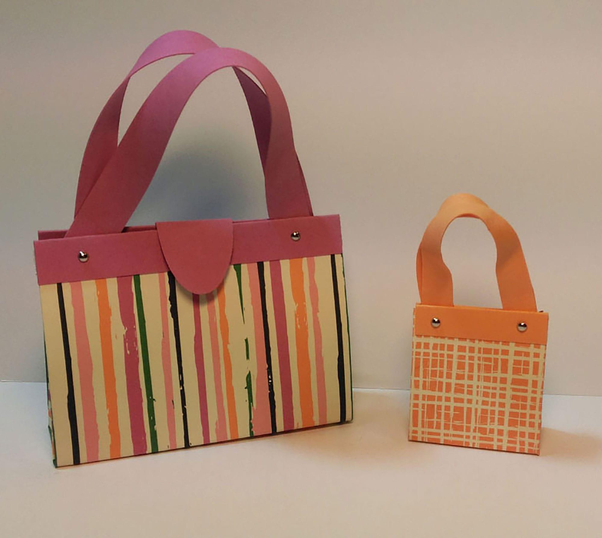 die-papiertante-kleine-falttasche