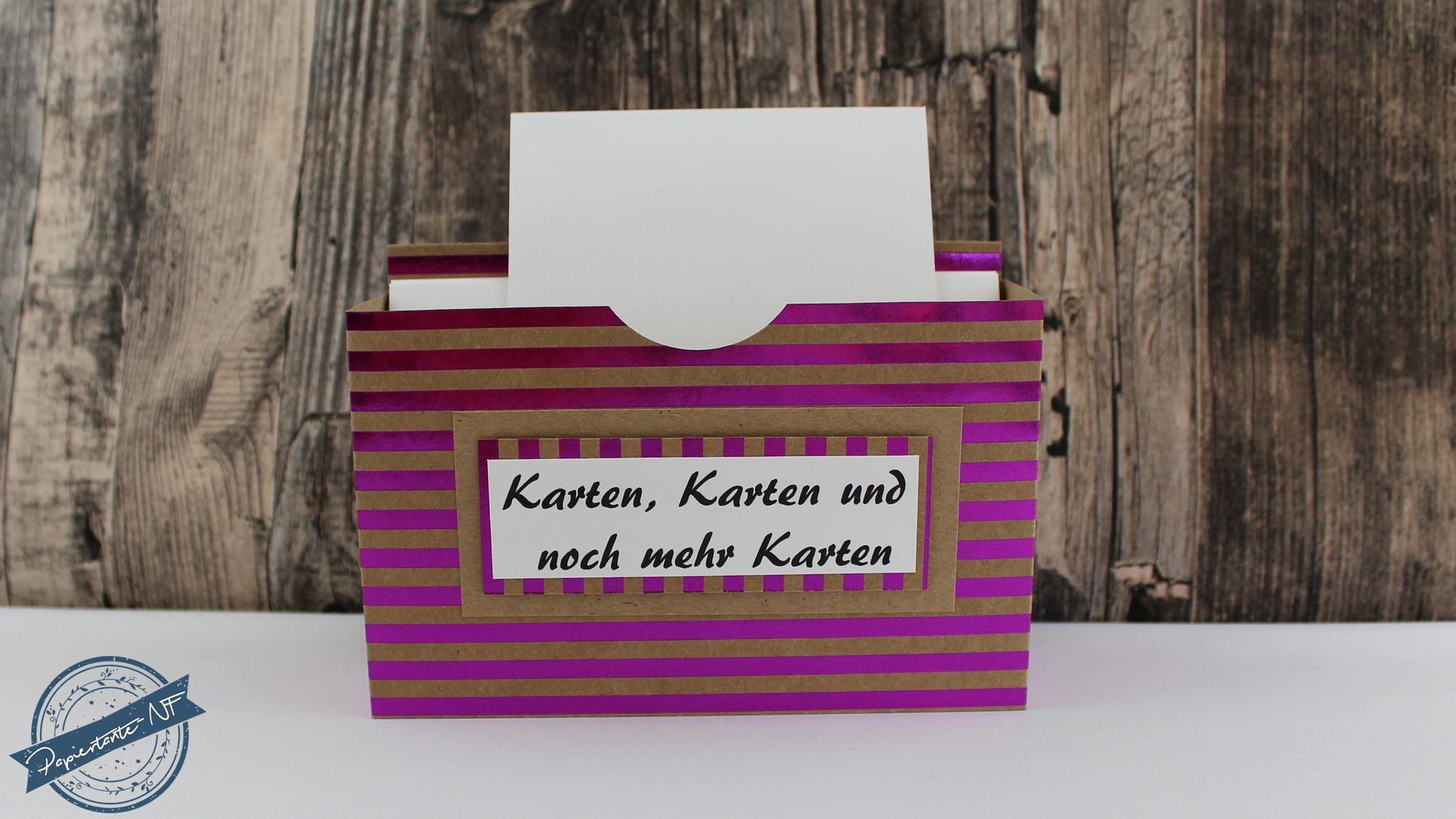 Boxenwoche 7_Box zur Kartenaufbewahrung