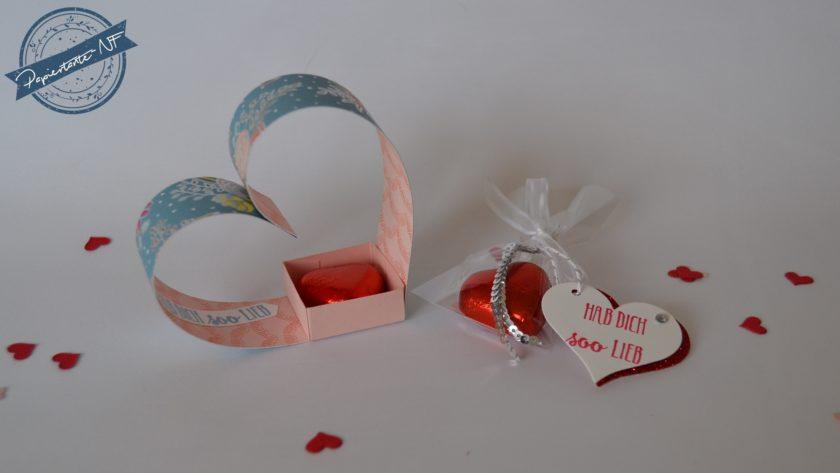 Herz Gast Goodie Und Kleines Herz Tutchen Die Papiertante Nf