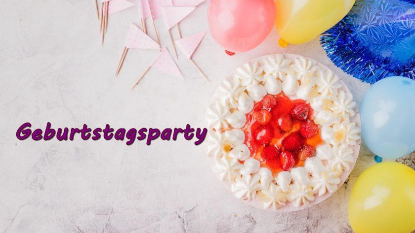 Geburtstagsparty1