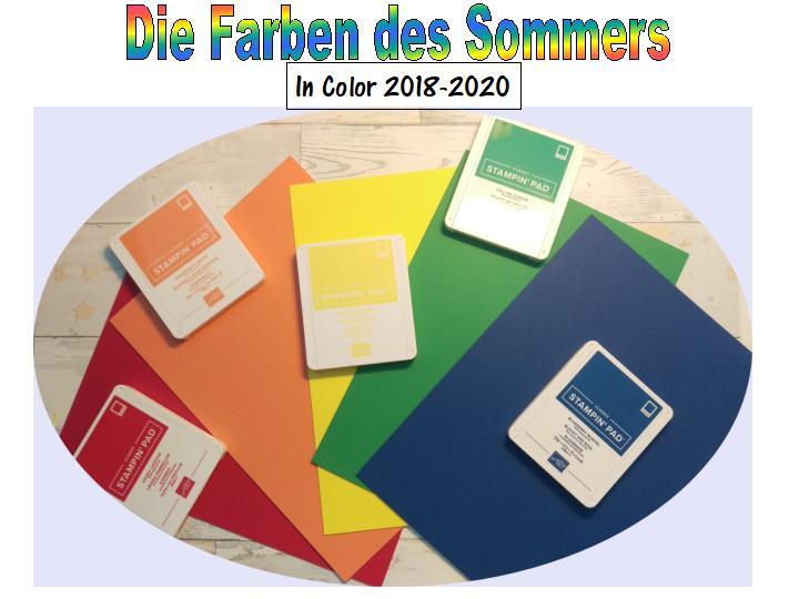 Die Farben des Sommers
